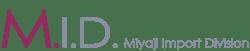 Miyaji Import Logo