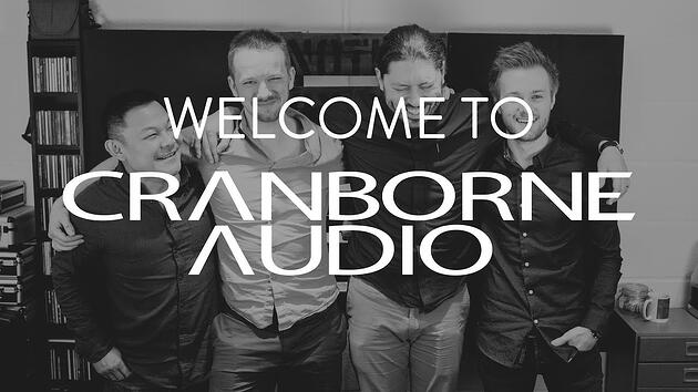 Welcome to cranborne audio
