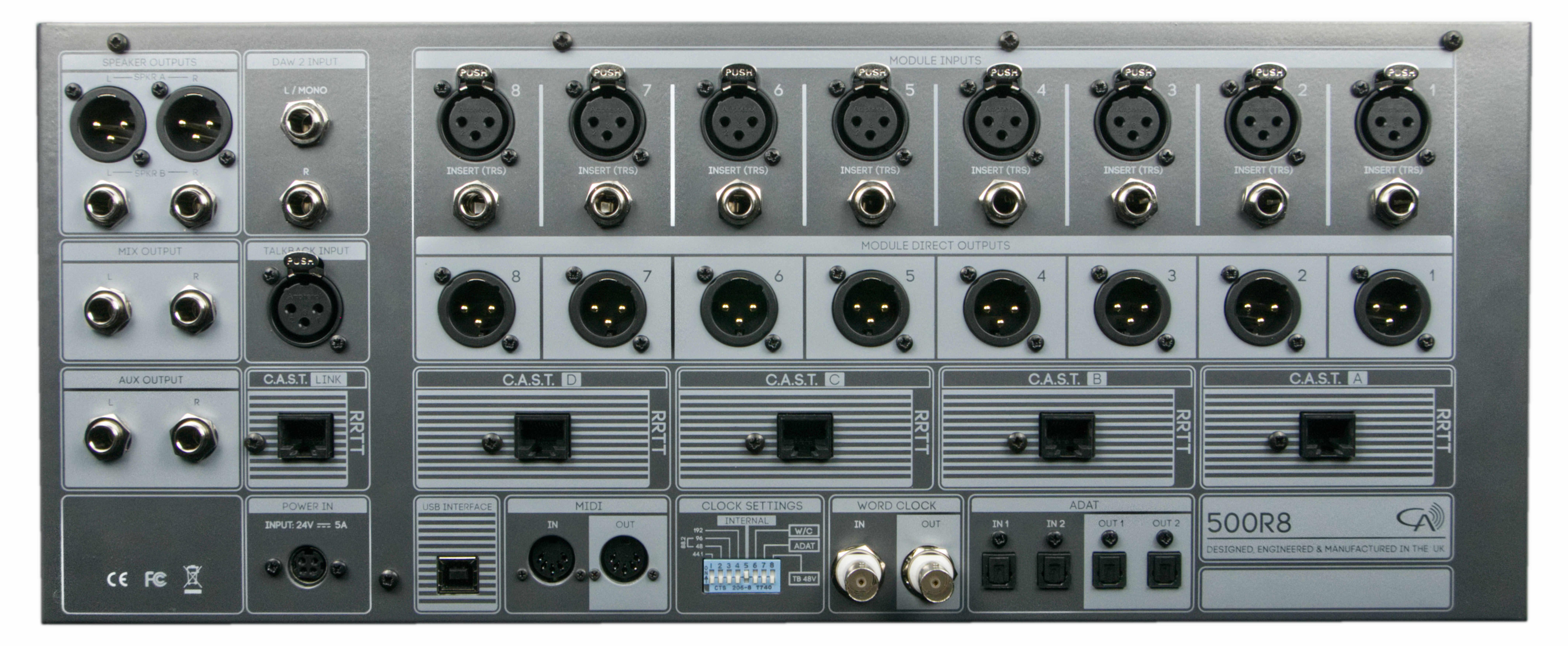 Cranborne Audio 500R8 - 500R8 - Analogue/Digital Hybrid USB Audio